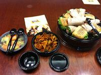 A corporate lunch delivery - Free with $100 minimum!