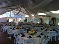 A summer Wedding for a lovely couple at the Chateau Tent at Green Valley.