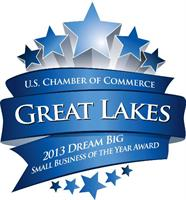 2013 US Chamber Great Lakes Region Small Business Finalist