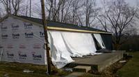 Storm Damage Restoration Before