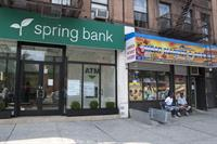 Spring Bank's branch in Harlem, 111th St. and 8th Ave.