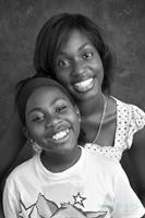 Jennabau and her sister receive frequent blood transfusions due to their sickle cell disease.