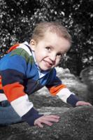 While Sam fought neuoblastoma, blood and platelet donations sustained him.