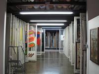 Inside the Canada Council Art Bank. Over 17,000 works of art available for rent.