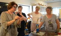 Glass Event July 19, 2014 - Ornament Blowing