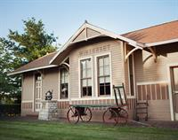 Winterset Train Depot