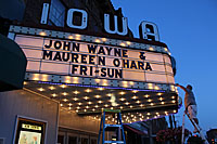 Iowa Theatre Marquee photo
