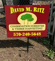 Yard Advertising with Custom Logo