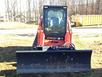 "84"" Dozer Blade Attachment for Skidsteer"