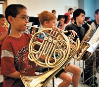 SSC's Summer Music Festival provides two weeks of challenging  music, friendship and fun for middle and high school students.