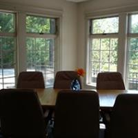 Small conference room for up to 10 people