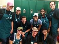 Volunteering at Pine Street Inn