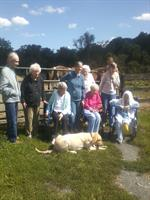 Bright View Nursing Home at Freedom Hills for a field trip.  Our oldest horseback rider that day was 99 years old.