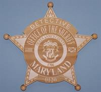 Queen Anne's County Sheriff Office Plaque
