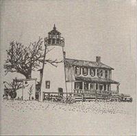 Metal - Turkey Point Lighthouse