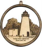 Ornanment - Turkey Point Lighthouse