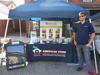Matt W, one of AEC's commercial auditors, at Fall Fest in Elkton