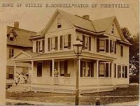 Home of Willis Gorrell former Mayor of Perryville,  House c 1900 still stands today on Elm Street.