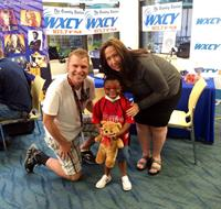 Paula & Tyler at the Nemours A.I. DuPont Radiothon