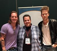 Brad Austin with Florida Georgia Line at the CMA's