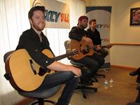 The Swon Brothers playing at WXCY