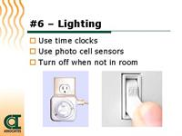 Energy Saving Tip #13