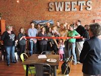 Sweets Ice Cream Ribbon Cutting