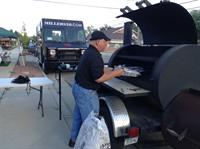 Lew Miller - KC BBQ Cooking for event