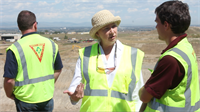 Waste Connections Landfill Tour