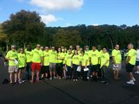 Volunteers from EMCCC Race for the Bottom Line