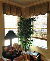 Shaped Box Pleated Valances