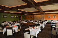 Restaurant - ceiling detail adds depth & drama