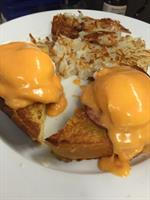 Benidict with buffalo Hollandaise