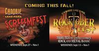 Screeemfest / Rocktoberfest at Canobie Lake Park