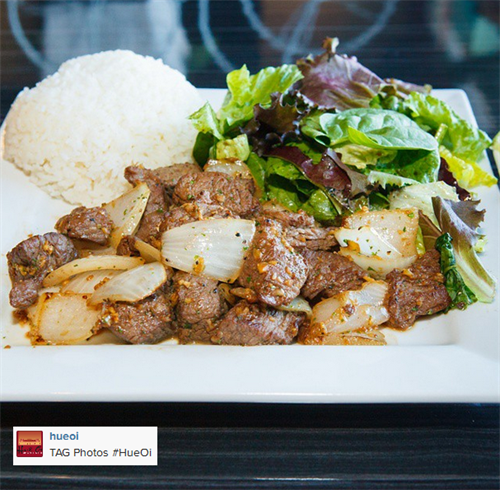 Com Bo Luc Lac (Filet Mignon Cubes with Rice)