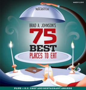 75 Best Places to Eat - OC Register Brad Johnson