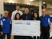 HELPING OTHERS PROGRAM $1,000 DONATION EACH MONTH TO CHARITY