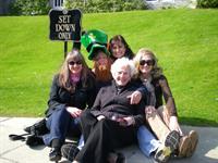Fun at Dromoland Castle Ireland