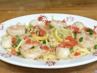 Shrimp & Scallop Scampi any time!