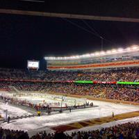 U of M Outdoor Hockey Game - Ohio State