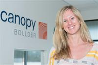 One of the CanopyBoulder entrepreneurs Liz Stahura of BDS Analytics