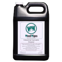 WeedWipes Natural Resin Remover. Bulk, Gallon for use with Ultrasonic Cleaning System