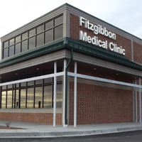 Fitzgibbon Medical Clinic which includes Marshall Family Practice, Marshall Women's Care, Fitzgibbon Mental Health, Marshall Surgical Associates, and Elfrink Surgical, LLC.