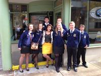 Marshall FFA at National Convention, 2013!!!  Model of Excellence!