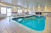 Splash in our heated indoor pool and hot tub