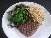 Our NFL Football Special - Prime Top Sirloin Steak with Salad and Fries for only $16.95 during NFL Evening Games