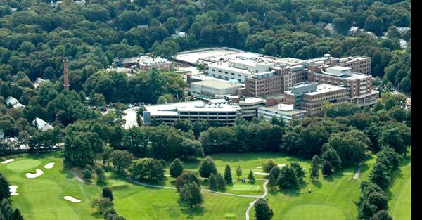 Aerial Shot of Newton-Wellesley Hospital