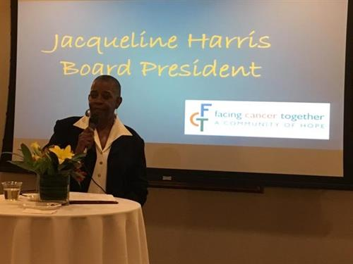 Jacqueline Harris, FCT Board President