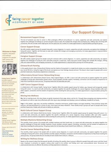 FCT Support Groups