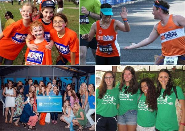 Take Steps with CCFA New England, run one of our many half marathons with Team Team Challenge, join us for fun and exciting events or send your children to Camp Oasis!